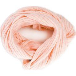 Szal TRUSSARDI JEANS - Neck Rib-Knitted 59Z00077 P050. Czerwone szaliki i chusty damskie TRUSSARDI JEANS, z jeansu. Za 209.00 zł.