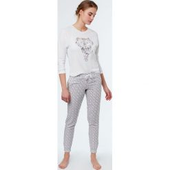 Etam - Spodnie piżamowe Izilda. Piżamy damskie marki MAKE ME BIO. W wyprzedaży za 69.90 zł.