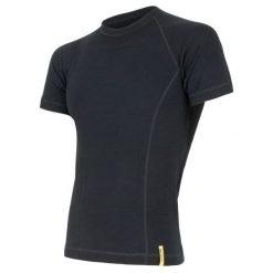 Sensor Koszulka Termoaktywna Z Krótkim Rękawem Double Face Merino Wool M Black Xxl. Czarne koszulki sportowe męskie Sensor, z krótkim rękawem. Za 195.00 zł.