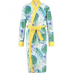 """Szlafrok """"Viridi"""" w kolorze zielono-żółtym. Szlafroki damskie marki NABAIJI. W wyprzedaży za 172.95 zł."""