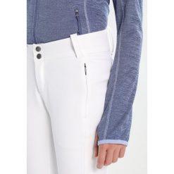 Columbia ROFFE RIDGE Spodnie narciarskie white. Spodnie snowboardowe damskie Columbia, z elastanu, sportowe. Za 399.00 zł.