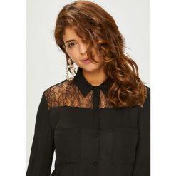 Tally Weijl - Koszula. Brązowe koszule damskie TALLY WEIJL, z materiału, casualowe, z długim rękawem. W wyprzedaży za 79.90 zł.