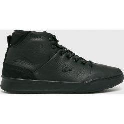 Lacoste - Buty Explorateur Classic. Czarne buty sportowe męskie Lacoste, z materiału. Za 599.90 zł.