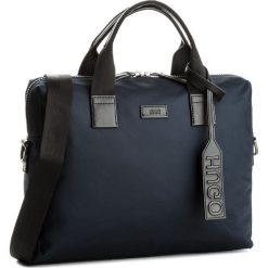 Torba BOSS - Capital_S 50379654  409. Niebieskie torby sportowe męskie Boss, z materiału. W wyprzedaży za 599.00 zł.