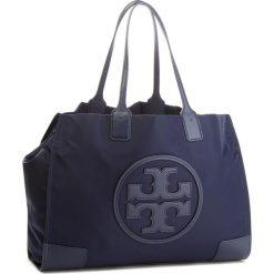 Torebka TORY BURCH - Ella 45207 Tory Navy 405. Niebieskie torebki do ręki damskie Tory Burch, z materiału. Za 849.00 zł.