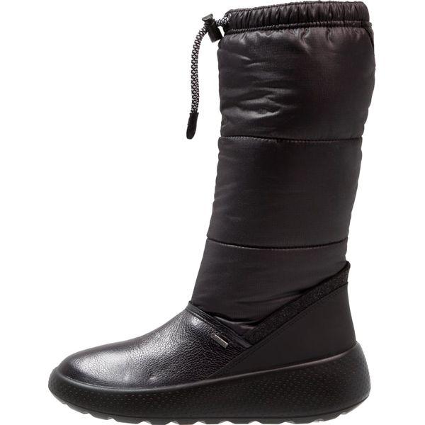 bd8d812e0988e ecco UKIUK Śniegowce black/moonless - Buty zimowe dziewczęce marki ...