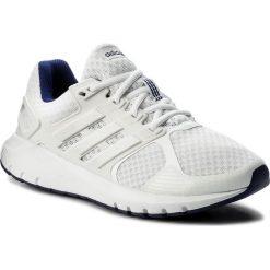 Buty adidas - Duramo 8 W CP8756 Ftwwht/Fwwht/Reapur. Białe obuwie sportowe damskie Adidas, z materiału. W wyprzedaży za 199.00 zł.
