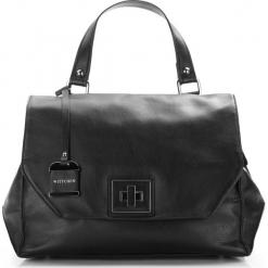 Torebka damska 86-4E-005-1. Czarne torebki do ręki damskie Wittchen, w paski. Za 499.00 zł.