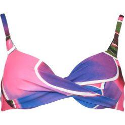 """Biustonosz bikini """"Alanya"""" w kolorze fioletowo-niebieskim. Bikini damskie Lisca. W wyprzedaży za 78.95 zł."""