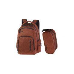 Plecak Młodzieżowy Coolpack Break Kolor Cegła Ultra Lekki 0,62kg + Piórnik. Brązowa torby i plecaki dziecięce CoolPack, z materiału. Za 149.00 zł.