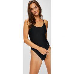 Calvin Klein Jeans - Strój kąpielowy. Różowe kostiumy jednoczęściowe damskie Calvin Klein Jeans. W wyprzedaży za 299.90 zł.