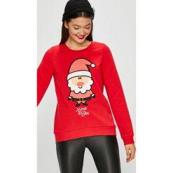 Vero Moda - Bluza Cute. Różowe bluzy damskie Vero Moda, z nadrukiem, z bawełny. Za 119.90 zł.