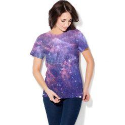 Colour Pleasure Koszulka CP-030  45 fioletowo-granatowa r. XS/S. T-shirty damskie Colour Pleasure. Za 70.35 zł.