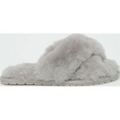 Emu Australia - Kapcie Mayberry. Szare kapcie damskie Emu Australia, z gumy. Za 249.90 zł.