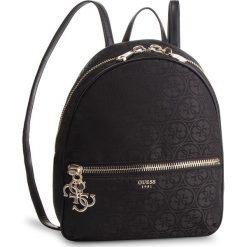 Plecak GUESS - HWJQ71 84330 BLACK. Czarne plecaki damskie Guess, z aplikacjami, z materiału, eleganckie. Za 599.00 zł.
