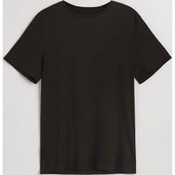Gładki t-shirt - Czarny. T-shirty męskie marki Giacomo Conti. Za 49.99 zł.