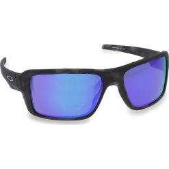 Okulary przeciwsłoneczne OAKLEY - Double Edge OO9380-0466 Black Tortoise/Violet Iridium. Czarne okulary przeciwsłoneczne męskie Oakley, z tworzywa sztucznego. W wyprzedaży za 479.00 zł.