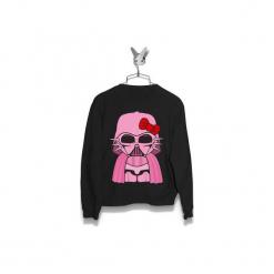 Bluza Hello Kitty Vader Damska. Czarne bluzy damskie Failfake, z motywem z bajki. Za 160.00 zł.