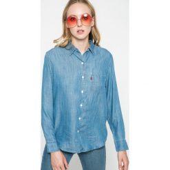 Levi's - Koszula. Brązowe koszule damskie Levi's, z lyocellu, casualowe, z klasycznym kołnierzykiem, z długim rękawem. W wyprzedaży za 179.90 zł.