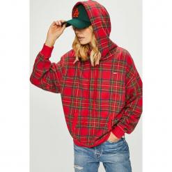 Levi's - Bluza. Brązowe bluzy damskie Levi's, z bawełny. Za 259.90 zł.