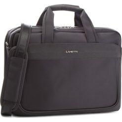 Torba na laptopa LANETTI - RM0702 Black. Czarne torby na laptopa damskie Lanetti, z materiału. Za 149.99 zł.