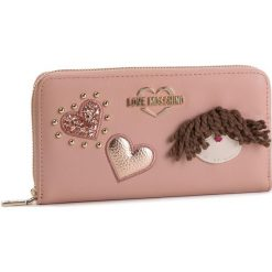 Duży Portfel Damski LOVE MOSCHINO - JC5600PP17LF0 Rosa. Czerwone portfele damskie Love Moschino, ze skóry ekologicznej. Za 429.00 zł.