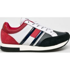 Tommy Jeans - Buty. Szare obuwie sportowe damskie Tommy Jeans, z gumy. Za 399.90 zł.