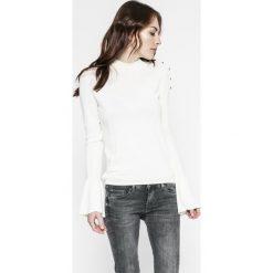 Pepe Jeans - Sweter. Szare kardigany damskie Pepe Jeans, z bawełny. W wyprzedaży za 179.90 zł.