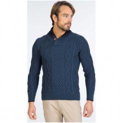 Sir Raymond Tailor Sweter Męski, Xxl, Niebieski. Niebieskie swetry przez głowę męskie Sir Raymond Tailor, z wełny. W wyprzedaży za 199.00 zł.