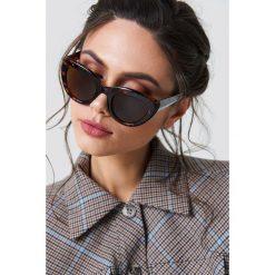 NA-KD Accessories Okulary przeciwsłoneczne kocie oczy - Black,Brown,Multicolor. Brązowe okulary przeciwsłoneczne damskie NA-KD Accessories. Za 80.95 zł.