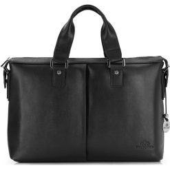 Torba na laptopa 20-3-042-1. Czarne torby na laptopa damskie Wittchen, w paski. Za 1,599.00 zł.