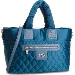 Torebka NOBO - NBAG-F4270-C013 Granatowy. Niebieskie torebki do ręki damskie Nobo, z materiału. W wyprzedaży za 159.00 zł.