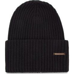 Czapka TRUSSARDI JEANS - Hat Rib-Knitted 59Z00079 K299. Czarne czapki i kapelusze damskie TRUSSARDI JEANS, z jeansu. Za 189.00 zł.
