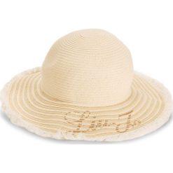 Kapelusz LIU JO - Cappello Tesa Larga N18286 T0300  Off White 01065. Brązowe czapki i kapelusze damskie Liu Jo, z materiału. W wyprzedaży za 219.00 zł.