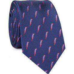 Krawat KWGR001670. Niebieskie krawaty i muchy Giacomo Conti, z mikrofibry. Za 69.00 zł.