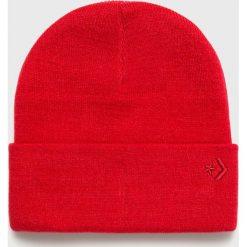Converse - Czapka. Czerwone czapki i kapelusze damskie Converse. Za 89.90 zł.