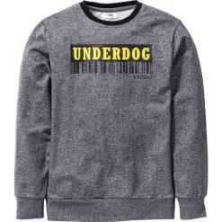 """Bluza """"college"""" bonprix antracytowy melanż. Bluzy dla dziewczynek marki Pulp. Za 32.99 zł."""