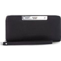 Duży Portfel Damski GUESS - SWPU66 93460 BLA. Czarne portfele damskie Guess, ze skóry ekologicznej. Za 279.00 zł.
