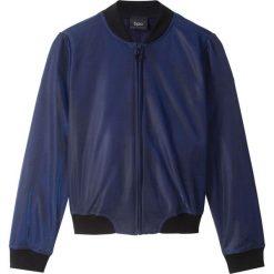 Połyskująca kurtka bonprix niebieski. Kurtki i płaszcze dla dziewczynek marki Pulp. Za 59.99 zł.