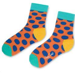Skarpety Wysokie Unisex HAPPY SOCKS - BDO01-2003  Kolorowy. Brązowe skarpety męskie Happy Socks, w kolorowe wzory, z bawełny. Za 34.90 zł.