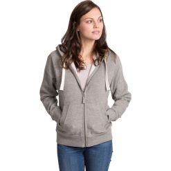 """Bluza """"Swag"""" w kolorze jasnoszarym. Szare bluzy damskie Trespass Snow Women. W wyprzedaży za 86.95 zł."""