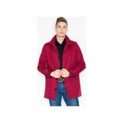Płaszcz V028 Bordo. Czerwone płaszcze męskie Visent. Za 179.00 zł.