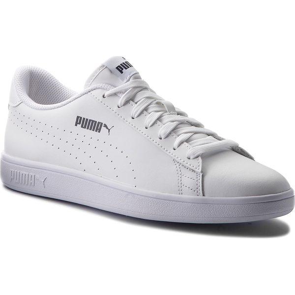 Sneakersy PUMA Smash V2 L Perf 365213 02 Puma WhitePuma White