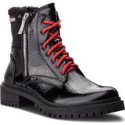 Trapery PEPE JEANS - Collie Suri PLS50336  Black 999. Czarne śniegowce i trapery damskie Pepe Jeans, z jeansu. W wyprzedaży za 279.00 zł.