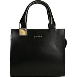 Shopper Bag HAMBURG. Czarne torebki shopper damskie Gino Rossi, z motywem zwierzęcym. W wyprzedaży za 349.90 zł.