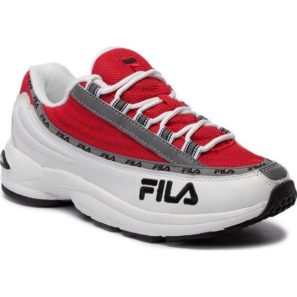 Sneakersy FILA Dstr97 1010570.02A WhiteFila Red