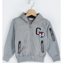 Szara Kurtka That A Boy!. Szare kurtki i płaszcze dla chłopców Born2be, z aplikacjami, z bawełny. Za 54.99 zł.