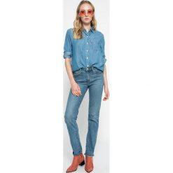 Levi's - Jeansy 712. Brązowe jeansy damskie Levi's. W wyprzedaży za 239.90 zł.