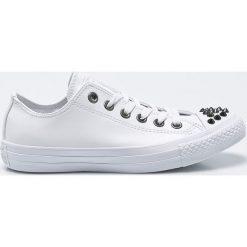 Converse - Tenisówki. Szare trampki i tenisówki damskie Converse, z gumy. W wyprzedaży za 219.90 zł.
