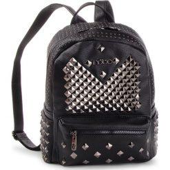 Plecak NOBO - NBAG-F2410-C020 Czarny. Czarne plecaki damskie Nobo, ze skóry ekologicznej. W wyprzedaży za 219.00 zł.